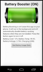 Battery Saver Pro app for Android