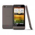 HTC One V with a sleek look