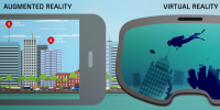 Augmented Reality and Virtual reality are not the same